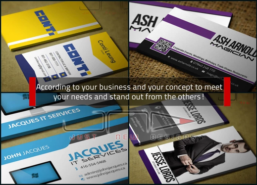 Design eye catching Business card