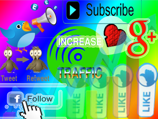 I will increase traffic  and manage  your  social media sites regularly