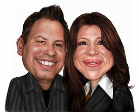 Draw a Professional Caricature for You