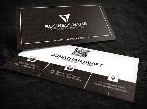 make stylish and professional BUSINESS card