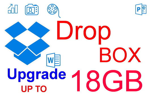 I will expand dropbox up to 18GB