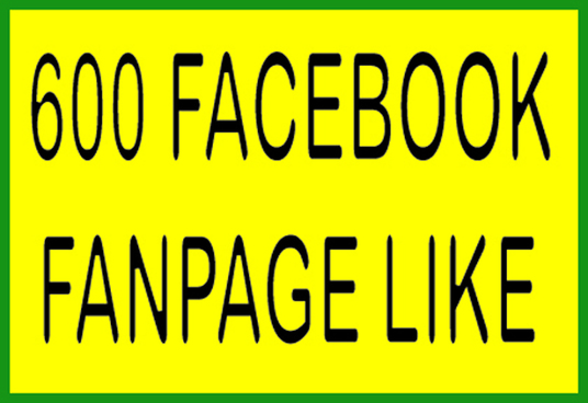I will Super Fast Speed 600 Non Drop Facebook Facebook Page likes Less then 48 hours