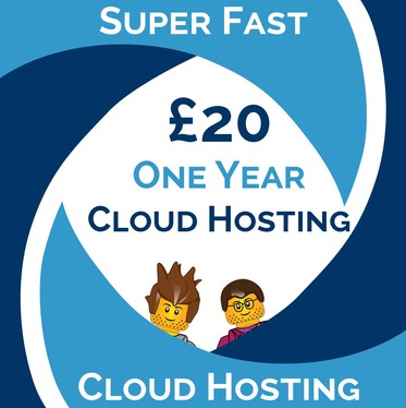Host your Website on our Super-Fast Cloud Servers - One Year Web Hosting