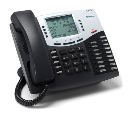 record Businesslike IVR and VOICEMAIL  Greetings and Prompts