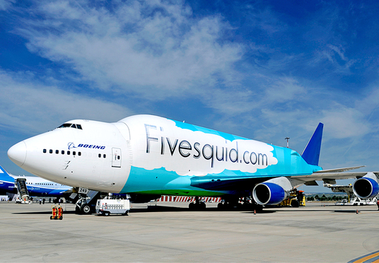I will advertise your brand  on a aircraft