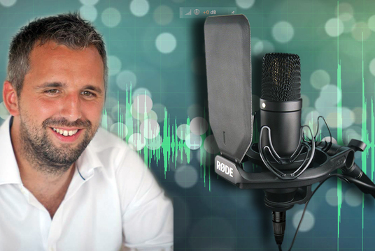 record a professional broadcast quality Voice Over
