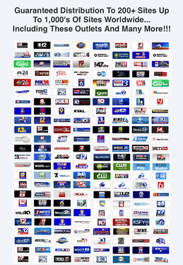 Get links From The TOP News Sites*(Google News, ABC, FOX, etc) Press release and Web traffic