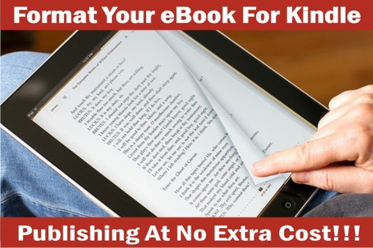 I will Format Your eBook For Kindle Publishing With CLICKABLE TOC