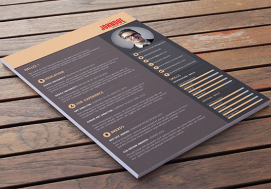 I will design cv, resume, curriculum vitae and cover letter