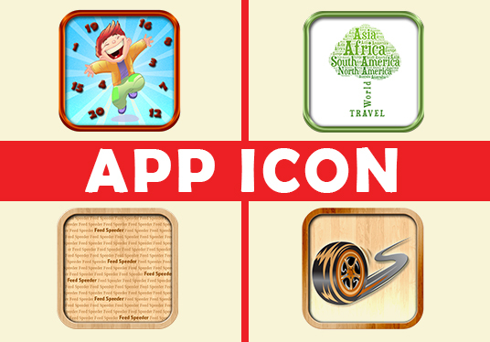 I will create awesome app icon for your application