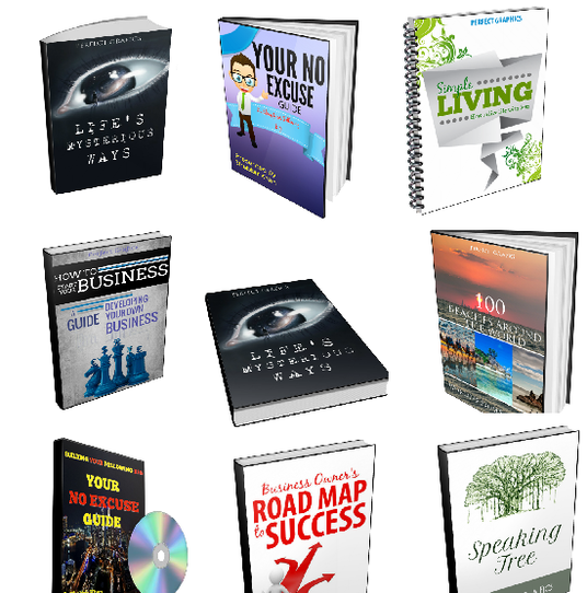 I will create eye catching 2D or 3D Ebook covers on Fivesquid