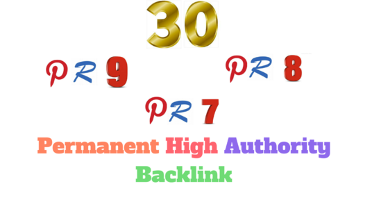 I will do 30 pr 9 to pr 5 do-follow back-link in your website