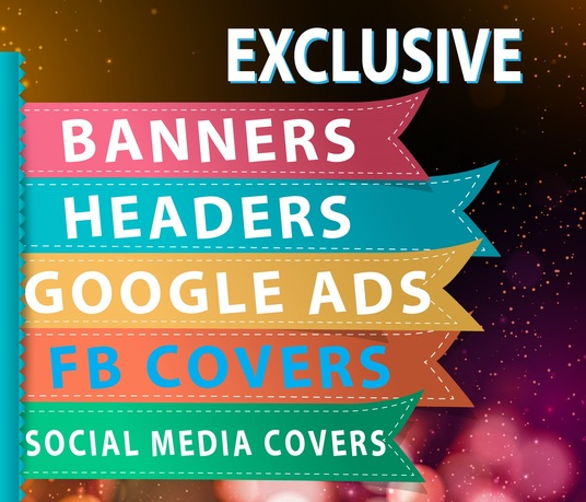 I will design banner for you