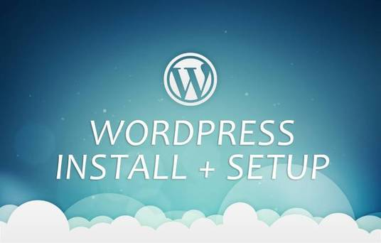I will Install WordPress and will setup correctly