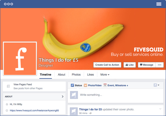 I will design a beautiful Facebook Cover and Profile Picture