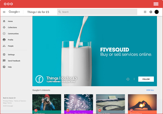 I will design a beautiful Google Plus cover and profile picture