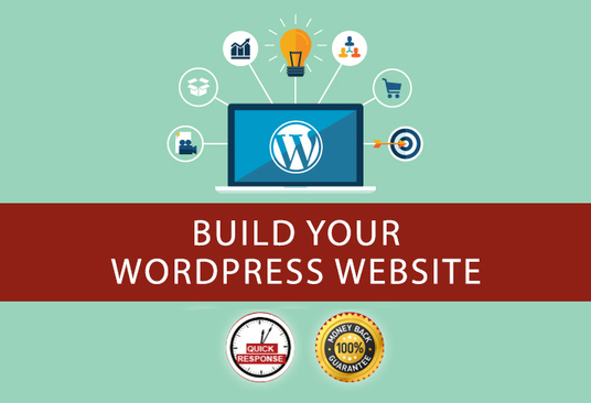 I will create a professional WordPress website