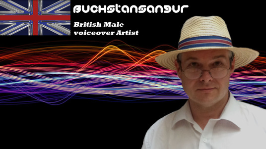 I will Provide you with a 100 word British male voice over or narration