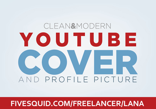 I will design YouTube cover
