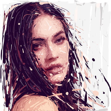 Create expressive painting
