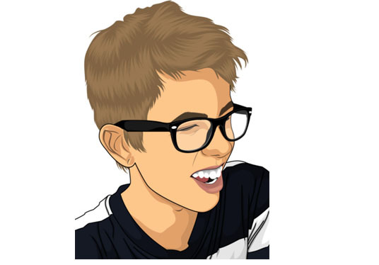 I will make a cartoon of your portrait