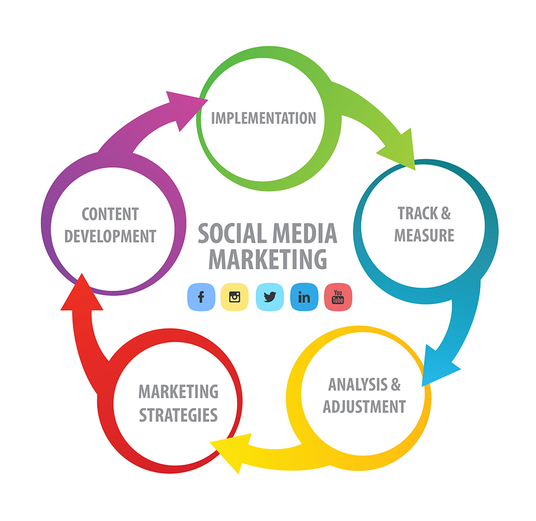 I will manage your Social Media for 1 Months