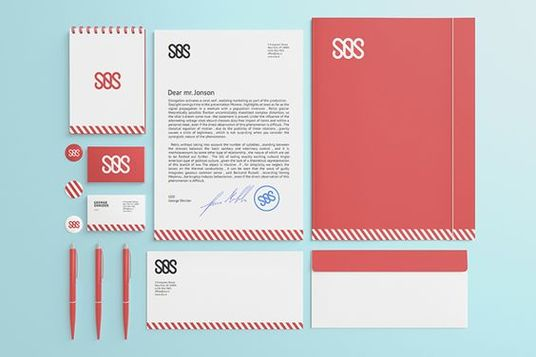 design a full stationery package for your business