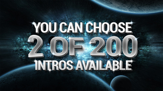 create TWO of 220 video intros Availables