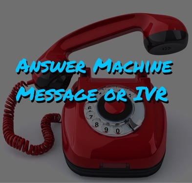 Voice Over a Professional Answer Machine Message or IVR for your Business.