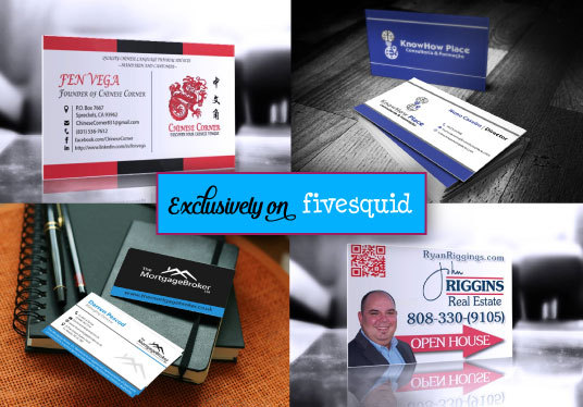 design Single or Double Sided Business Card
