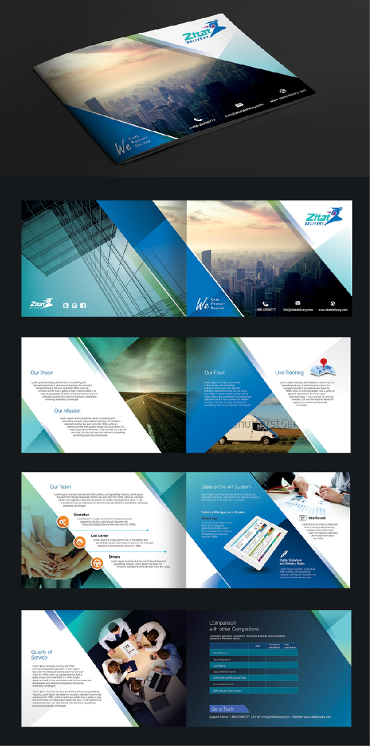 I will Design Print Ready 8 Pages Brochure