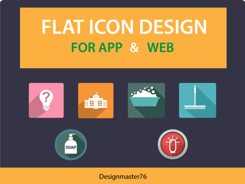 do Professional App and Web Icon Design