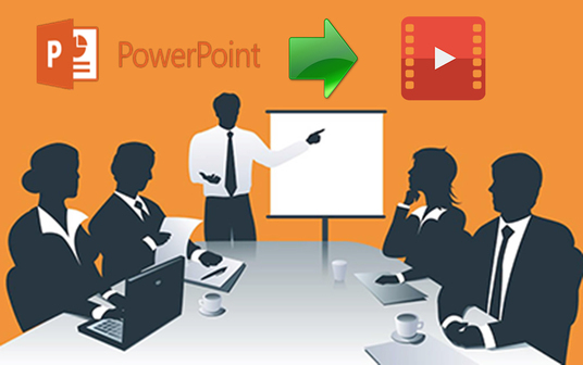 convert powerpoint presentation into a video