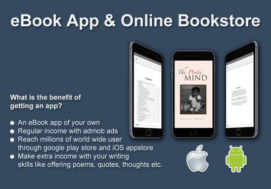I will create an App with your eBook and Pdf with admob ads