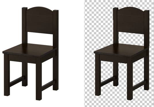 edit any JPG Image to transparent background PNG