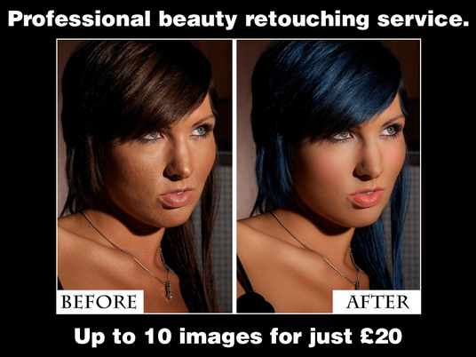 I will professionally, beauty retouch  up to 10 images