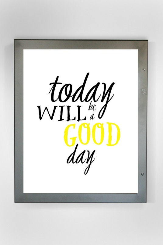 I will create a custom printable with your favourite quote