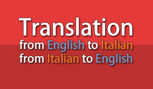 Translate From Italian To English: Translate Small Texts From Chinese To English Or Italian