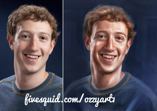 make a digital oil painting from your photo