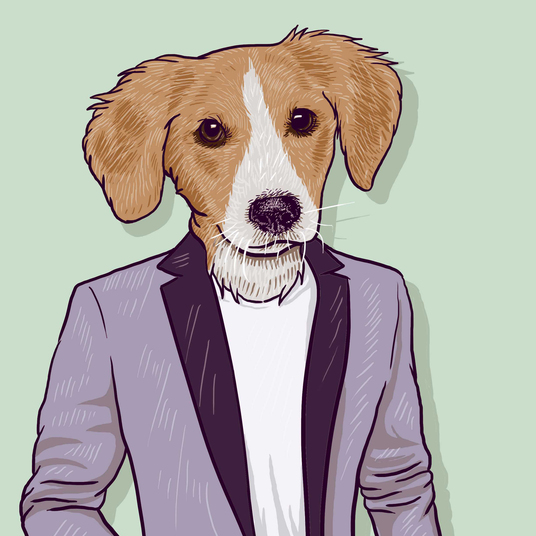 I will draw your pet wearing apparel