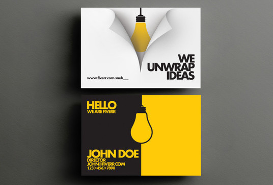 Design amazing business cards for gbp10 graphicsknight for Amazing business card designs