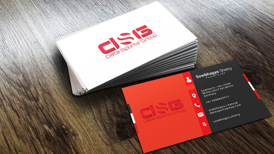 do modern business card design print ready
