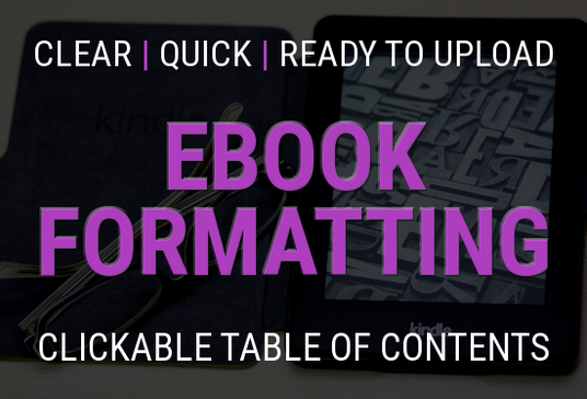 I will format your document as an ebook for Kindle with a clickable table of contents