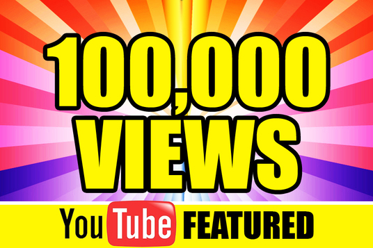 I will  Provide 100000+ Youtube Video views  High Retention and 1000 likes with splitable