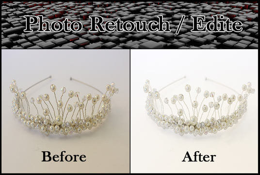I will retouch your 2 photos