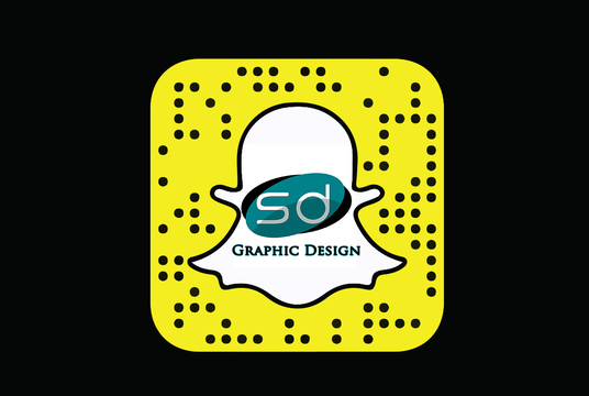 put a pic or logo of your choice into your Snapchat snapcode