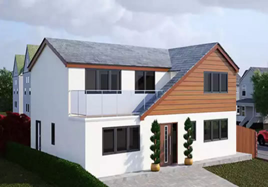 I will create 3D perspective renders of your house plans
