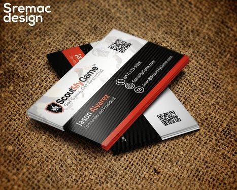 design Awesome business card for you