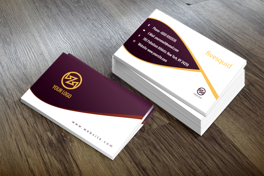 Do Smashing Professional Double Sided Business Card For