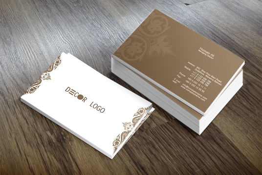 cccccc-do smashing Professional double sided business card